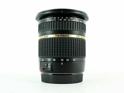 Tamron SP AF 10-24mm f/3.5-4.5 Di II LD Aspherical (IF) Canon EF-S Fit Lens Used