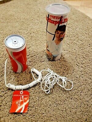 Vintage Coca Cola Classic Telephone With Cord, Box, & Papers.