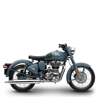 Royal Enfield 500 EFI Classic Squadron Blue inklusive Anlieferung