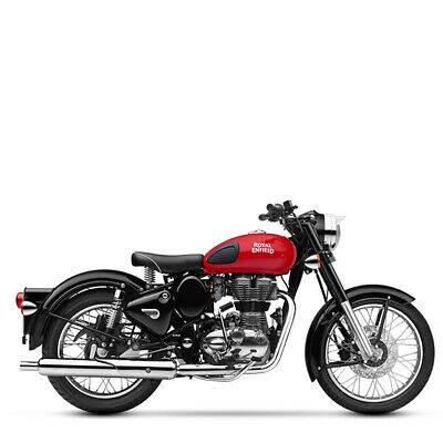Royal Enfield 500 EFI Classic Redditch red inklusive Anlieferung