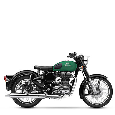 Royal Enfield 500 EFI Classic Redditch green inklusive Anlieferung