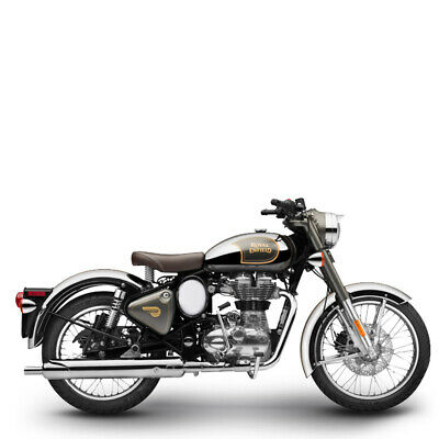 Royal Enfield 500 EFI Classic Chrome graphite inklusive Anlieferung