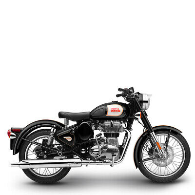 Royal Enfield 500 EFI Classic black inklusive Anlieferung