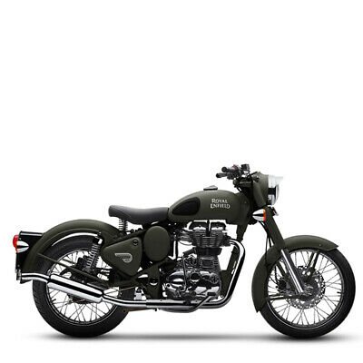 Royal Enfield 500 EFI Classic Battle Green inklusive Anlieferung