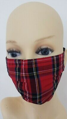 100% Cotton Face Mask- Adjustable -Washable -reusable in 8 colors