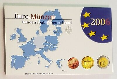 2006 Germany 9 Coin Euro Mint Set Proof Set