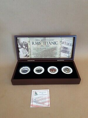 Rms Titanic 100Th Anniversary Matthew Mint Coin Collection