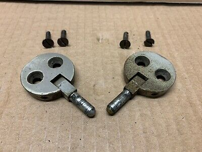 Jones Round Vintage Sewing Machine Hinges (may also fit Singer)