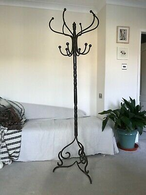 Lovely Vintage Wrought Iron Hat Stand