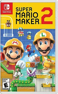 Super Mario Maker 2 (Nintendo Switch) Brand New - Sealed