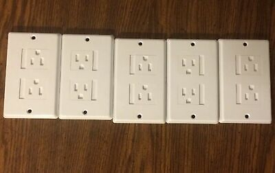 Child Safety Outlet Covers Safe Easy Sliding Lots Of 5 OR 2 Wall Plates