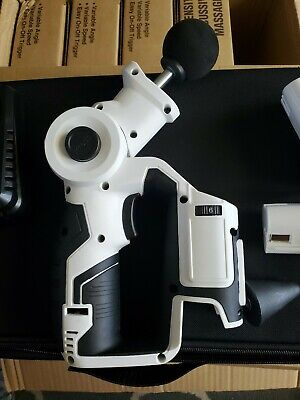 Deep Muscle Massage Gun with 2 batteries and 3 heads.