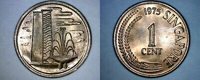 1975 Singapore 1 Cent World Coin