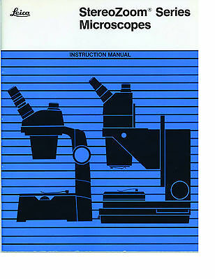 Leica Bausch & Lomb StereoZoom Microscopes Service-Parts-Repair Guides