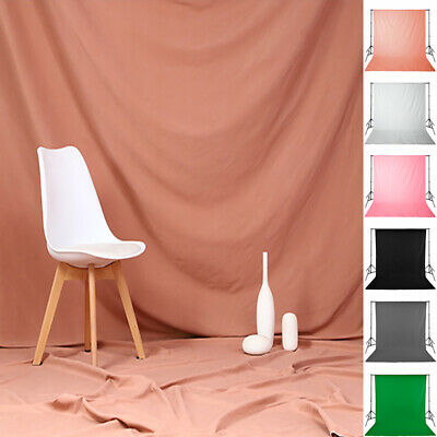 Photography Background Screen Studio Video Backdrop Photo Props Solid Color Soft