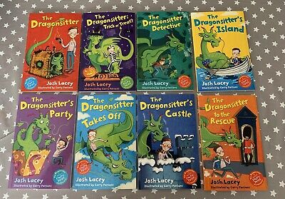 The Dragonsitter Series 8 books By Josh Lacey *NEW