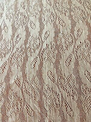 Antique French Silk Lace