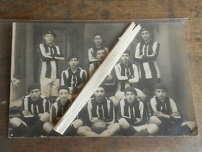 carte photo sport football  Joinville années 1920 1930