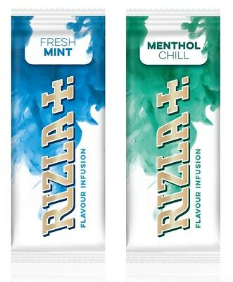 Rizla Flavor Infusions Fresh Mint and Menthol Chill - Variations by eTrendz