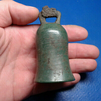 Ancient Celtic Bronze Bell.  Big, Very Rare !!!