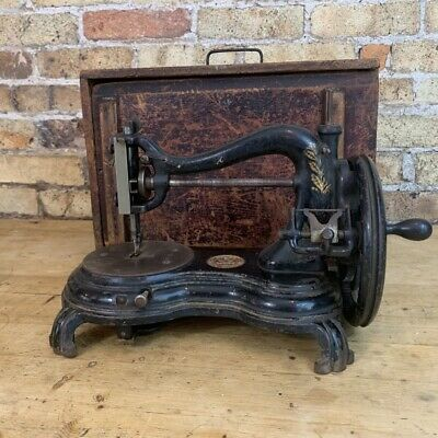 Jones Swan Neck /  Cat Back / Serpentine Sewing Machine, c 1890's
