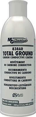 MG Chemicals 838AR Total Ground Carbon Conductive Paint, 12 oz Aerosol Spray Can