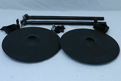 TWO Roland CY-12C V-Cymbal V Drum Trigger CY12C MOUNTS for TD 20 12RC 10 8 30 9
