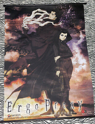 OFFICAL Anime Ergo Proxy 2006 Wall Scroll Anime GENEON