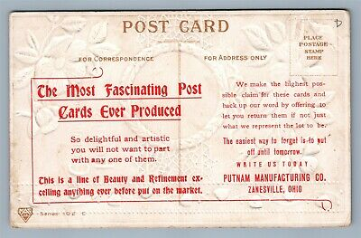 Post Card Manufacture Advertising Antique Postcard Pitnam Co Zanesville Oh