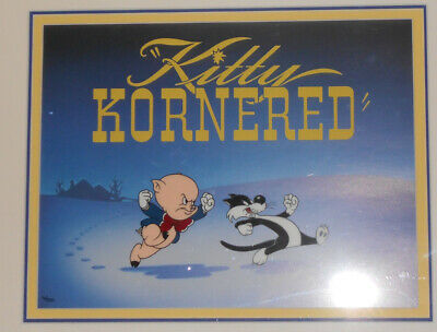 Kitty Kornered Liited Edition Cel from Bob Clampett and Warner Brothers