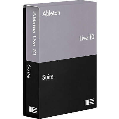 Ableton Live 10 Suite DAW Full Version License Transfer eDelivery