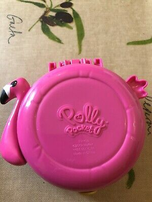 polly pocket World flamingo Floatie Compact Playset