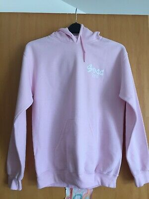Girls Pink Sugg Life Hoodie, Small, Used condition