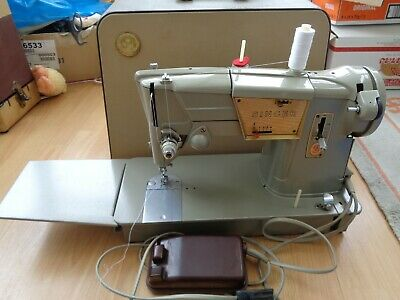 Singer 328 K Sewing Machine With Case