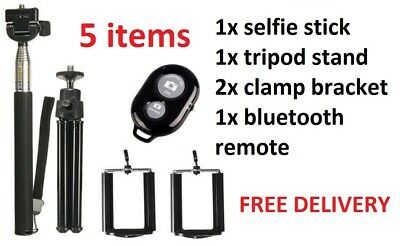 Bluetooth Selfie Stick with Tripod Stand for iPhone LG Sony and Samsung Mobiles
