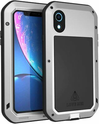iPhone XR Waterproof Shockproof Heavy Duty Full Body Metal Case by LOVE MEI
