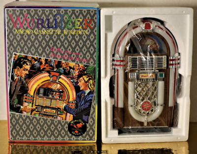 Wurlitzer Model 1015 Vintage Micro Casette Jukebox 1984