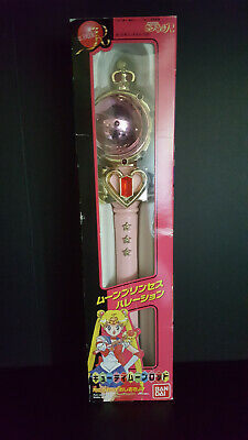 Sailor Moon Cutie Moon Rod Bandai Vintage Working Condition First Edition