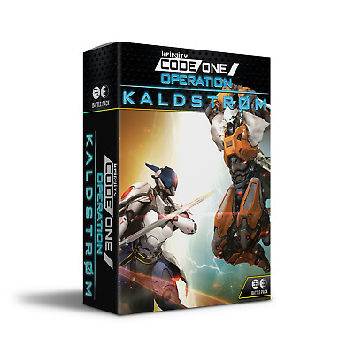 Operation Kaldstrom Battle Pack - Infinity Code One  *IN HAND READY TO SHIP*