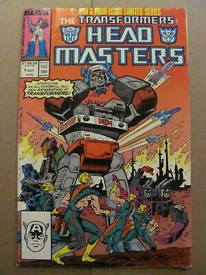 Marvel Age #17 Preview of Transformers Predates #1 Jim Henson Muppets 9.2 NM