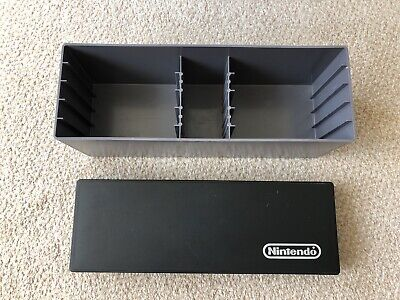 Rare Official Nintendo NES Storage Box For upto 10 Games & Controllers Hard Case