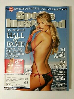 SI SPORTS ILLUSTRATED SWIMSUIT ISSUE Magazine WINTER 2004