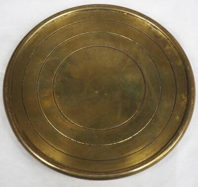 French Movement Cover French Mantel Clock Back door Brass 11cm