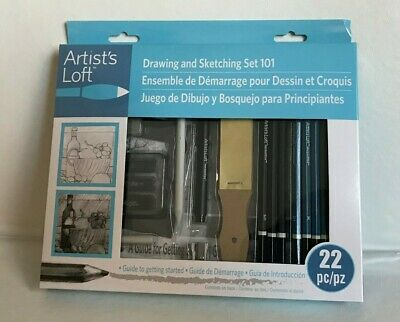 Artists Loft~22 Piece Drawing and Sketching Set 101
