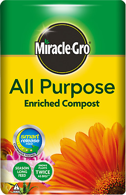 Miracle Gro All Purpose Enriched Compost 40L Garden Planting Growing Soil