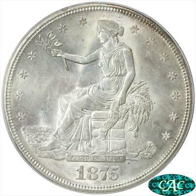 1875-S Trade Dollar PCGS and CAC  MS63