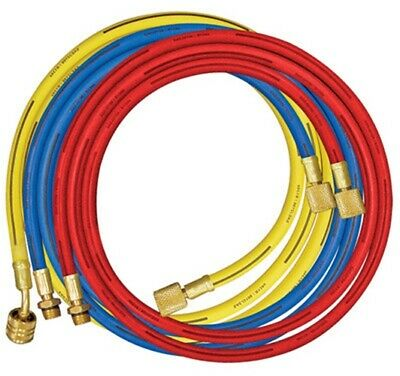 A/C Long Air Conditioning Condition Manifold Replacement Charging Hose Set Hoses