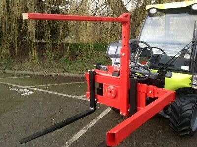 Forklift Box Rotator with Top and Side Bars