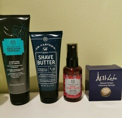 Toiletries / Skincare Bundle - Body Shop / Actilabs / Dollar Shave. Worth £29!