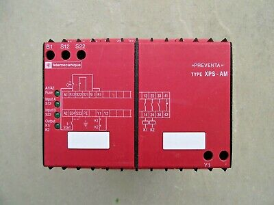 Telemecanique XPS-AM Safety Relay